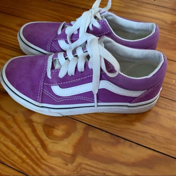 Vans Shoes | Girls Vans Size 5 | Poshmark